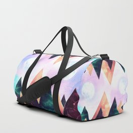 Sunrise of the moon Duffle Bag