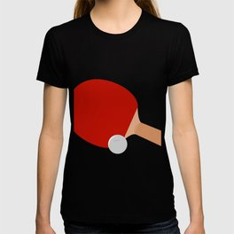 Ping-Pong Racket & Ball T-shirt