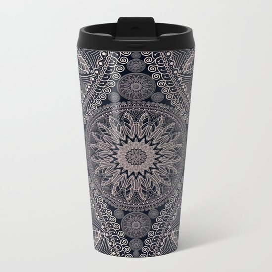 Mandala 17/1 Metal Travel Mug