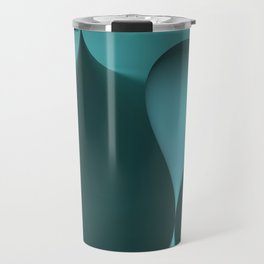 the color turquoise Travel Mug