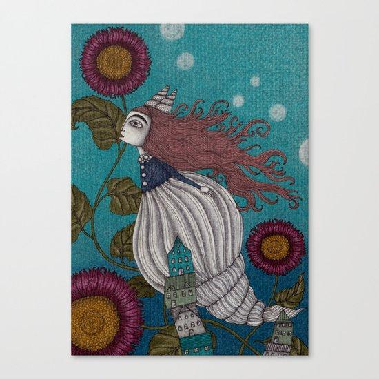 The Little Mermaid (1) Canvas Print