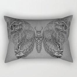 Butterfly skulls 2 Rectangular Pillow
