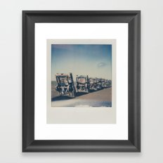 Cadillac Ranch - Route 66 Framed Art Print