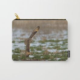 BIG WINGS Short Eared Owl Carry-All Pouch