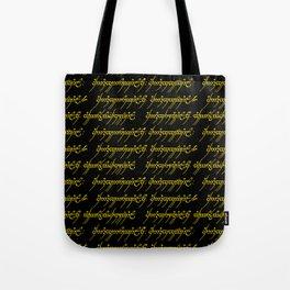 Elvish // Gold & Black Tote Bag