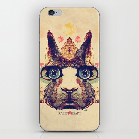 Rabbit Heart iPhone & iPod Skin