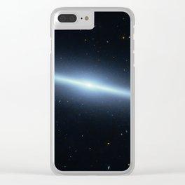 Space galaxy Edgee. Clear iPhone Case