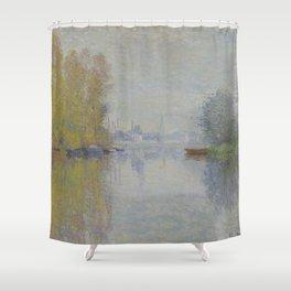 Autumn on the Seine, Argenteuil Shower Curtain