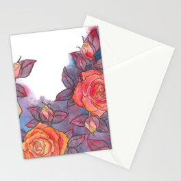 Hello, Moonglow Rose  Stationery Cards