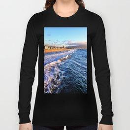 "Hermosa Beach ""On the Pier 2"" Long Sleeve T-shirt"