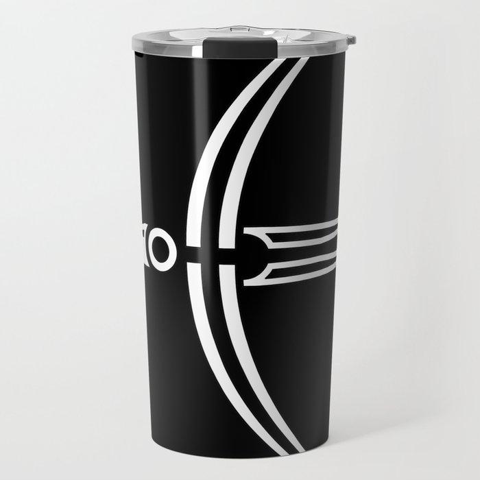 Moon Raven Travel Mug