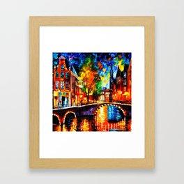 Starry Night Tardis Framed Art Print