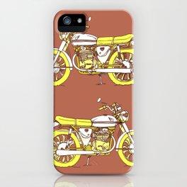 Vintage Motorcycle Gems III iPhone Case