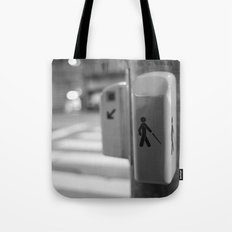 Paris crossing Tote Bag