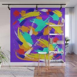 Violet Emotions #3 Wall Mural