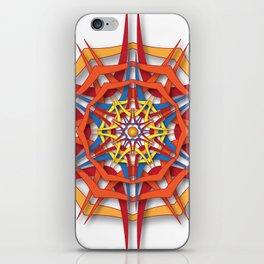 abstract mandala harsh sunlight iPhone Skin