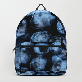 Blueberries background Backpack