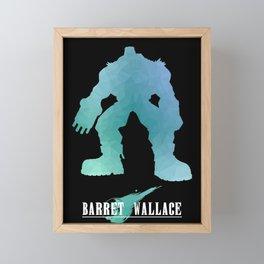 Barret FF Framed Mini Art Print