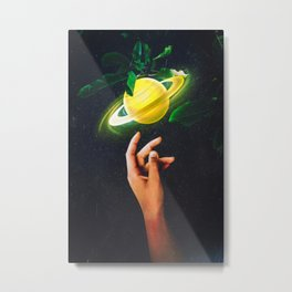 Reaching The Impossible  Metal Print