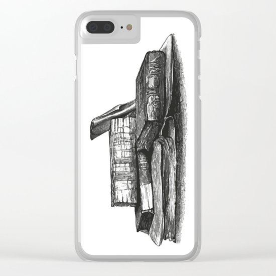 Books 2 Clear iPhone Case