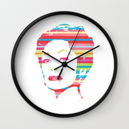 Mommie Dearest | Pop Art Wall Clock