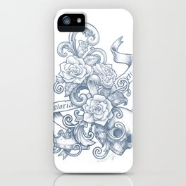 Gloria Invictis Aestus iPhone Case