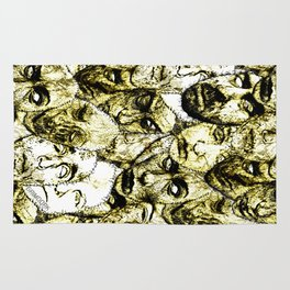 Face Stitches Rug
