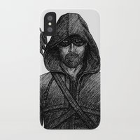 arrow iPhone & iPod Cases featuring Arrow by Jack Kershaw