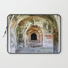 Arches of Fort Morgan Laptop Sleeve