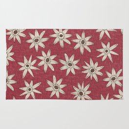 sema jester red brown Rug