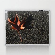 red leaf. Laptop & iPad Skin