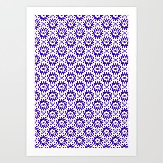 pattern6 Art Print