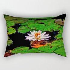 From the Lilypads Rectangular Pillow