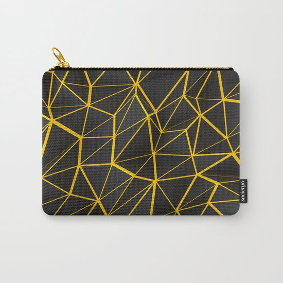 Yellow Wire Carry-All Pouch