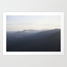 Land: Mountainous Art Print