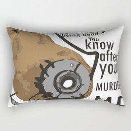 Glados Potato Rectangular Pillow