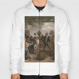 Jan Steen The Dancing Couple 1663 Painting Hoody