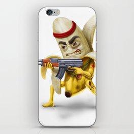 Bananilla - the banana revolution iPhone Skin