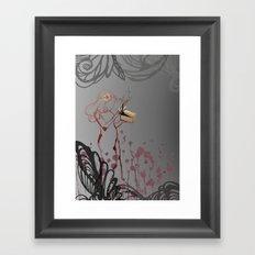 Curiosity. Framed Art Print