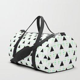 Geometric Background Pattern Duffle Bag