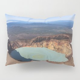 Stratovolcano Maly Semyachik, Kamchatka Pillow Sham