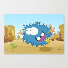 Monster WOLLY from Monster series Canvas Print