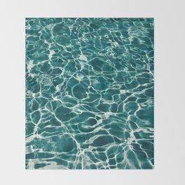 Hot Summer Day Throw Blanket