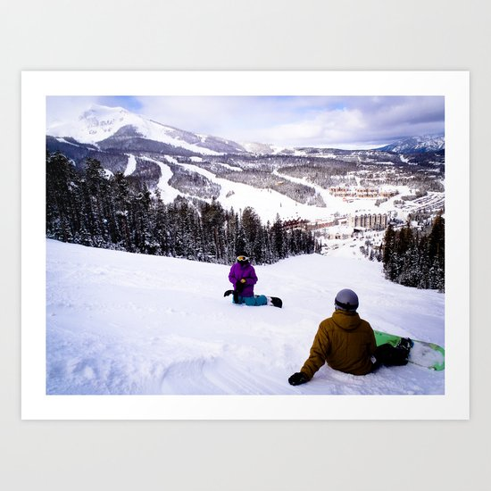 Shreddin' Art Print