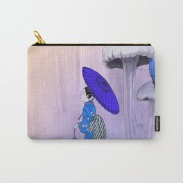 Geisha Walking with a parasol Carry-All Pouch