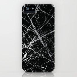 Silver Splatter 090 iPhone Case