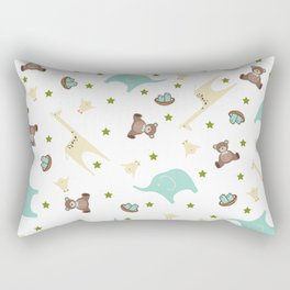 Baby Boy Print Rectangular Pillow