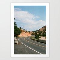 Road Less Traveled Art Print