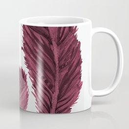 Feather Collection - bordeux Coffee Mug