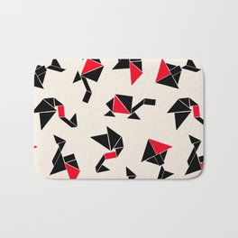 Tangram Animals Bath Mat